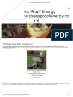 The Ray Peat Diet, Explained – Stress Proof Energy