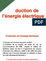 L1 ER Etat de l Art d Eltech -C3 Production de l Energie Electrique