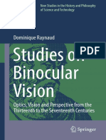 Studies on Binocular Vision_ Optics, Vision and Perspective From the Thirteenth to the Seventeenth Centuries-Springer International Publishing (2016)