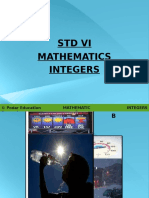 CBSE Std VI Math Integers