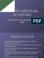 Historia Medieval de España y Reconquista