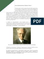 Bases Epistemológicas Do Behaviorismo Radical
