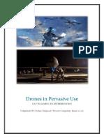 Drones in Pervasive Use - Vedaprakash, Roshan, Hari