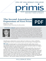 Imprimis the Second Amendment as an Expression of First Principles Mar 2013 (1)