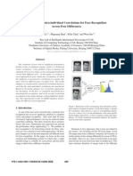 Maximizing Intra-Individual Correlations for Face Recognition Across Pose Differences