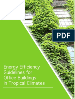 Energy Efficiency Guidelines for Office Buildings in Tropical Climates