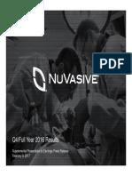 Nuvasive Q4 Full Year 2016_NUVA
