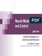 8- Neural Modelling and Control