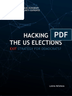 Hacking the US Elections - Special Report From CASE