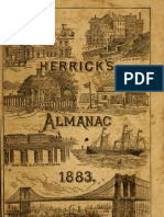 (1883) Herrick's Almanac