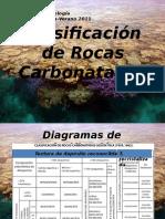 Clase 4 Clasificacion de Rocas Carbonatadas