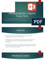 Alfabetización Digital Como Crear Un Power Point