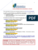 PRONATEC Empreendedor Orientacoes Gerais Avaliacoes e Criterios Certificacao TURMA 04