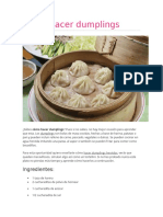Cómo Hacer Dumplings