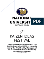 5th Kaizen Festival