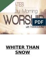 Sunday Worship LYrics