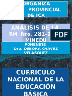 Análisis de La Rm 281-2016-Minedu