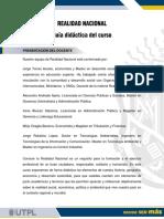 Gu+¡a did+íctica - Realidad Nacional