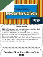 reconstruction clzed notes c