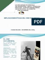 Presentación Cine Documental