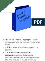 Understanding JCL