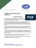 APG ExpectedOutcomes2015
