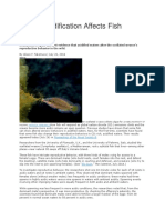 ocean acidification affects fish spawning