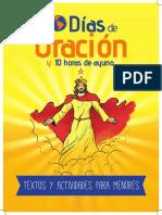 10 Dias de Oracion Para Menor Print