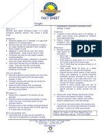 Fact Sheet - Pertussis -Whooping Cough