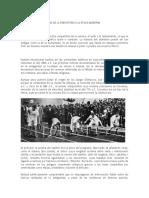 La Historía Del Atletismo de La Prehistoria a La Época Moderna