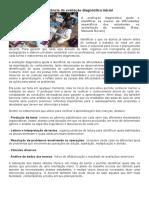 A import+óncia da avalia+º+úo diagn+¦stica inicial
