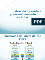 Configuracion de Routers
