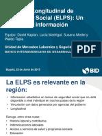 BID Presentacion Proyecto Regional ELPS