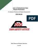 Wahl Prediction of Embankment Dam Breach Parameters