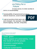 policy Social Welfare Policy for a Sustainable Future.pptx