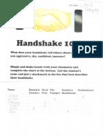 handshake101 ws studentsample