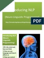 Introducing NLP Neuro Linguistic Programming