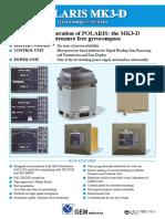Polaris MK3-D Gyrocompass