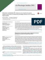 Diferentes Modalidades de Violencia en La Relación de Pareja Implicaciones Para La Evaluación Psicológica Forense en El Contexto Legal Español