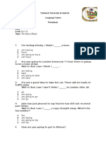 Worksheet Plans