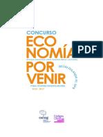 Concurso Economia Por Venir Ampliación Del Plazo