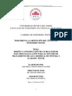 diseño y construcción de un reactor de electrocoagulacion tto agua textil.pdf