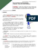 cours analyse fonctionnelle (jusqu'à la page n°12)