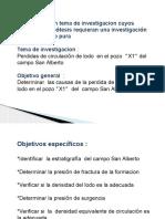 Diseño de Investigacionperdida de Circulación y Producción Alta de Pet ..