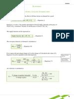 Economics Formula Sheet