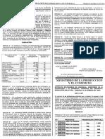 Gaceta 37.629 Inicia control de precios 2003