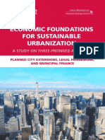 Economic Foundations for Sustainable Urbanization Pronged Approach