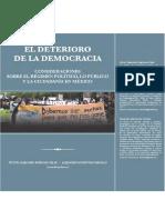 Alejandro Monsivais El Deterioro de La Democracia 2012