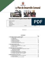 Diagnóstico y Plan de Desarrollo Comunal - II