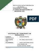 Informe-tuberias en Paralelo